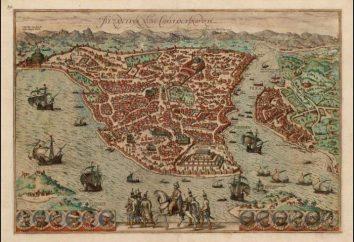 Empire byzantin: la capitale. Le nom de la capitale de l'Empire byzantin