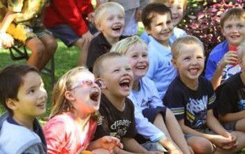 Co rozrywki mogą być organizowane u dzieci Tver