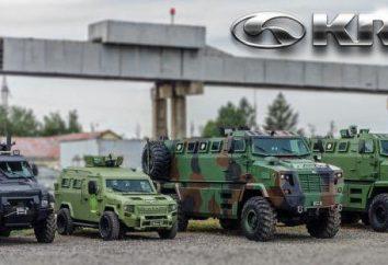 KrAZ Pflanzen Geschichte, Autos. Kremenchug Automobilwerk