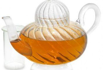 Théière en verre – un attribut moderne de la cérémonie du thé