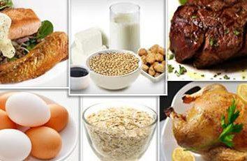 Proteína menu de Dukan Diet. Receitas para uma dieta rica em proteínas