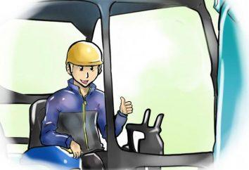 kierowca koparki: Dane o zawodzie