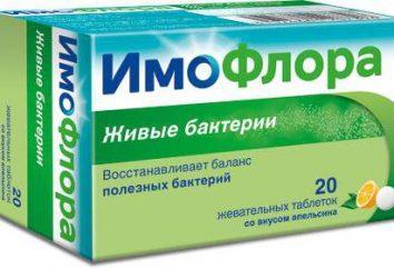 Le médicament « Imoflora »: sur les examens des médicaments