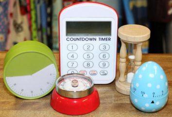 Mecânica timer de cozinha: visão geral, descrição, classificação dos usuários e comentários