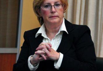 Ministro della Salute Veronika Skvortsova: Biografia e famiglia