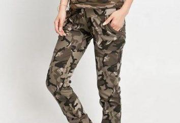 Pantalon de camouflage universel au sommet de la mode