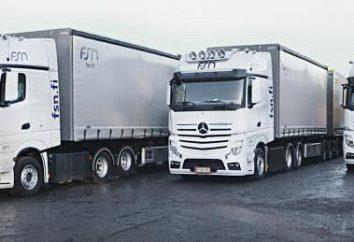 """Transportunternehmen """"Business Line"""": eine Überprüfung. LKW-Transport in Russland"""