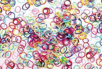 Was kann aus Gummi gemacht werden? Schritt für Schritt Anleitung Webartarmband aus dem Zahnfleisch