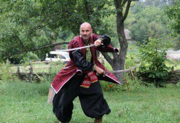 Hopak combate como uma espécie de dança marcial