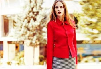 Con ciò che è meglio indossare una giacca rossa?