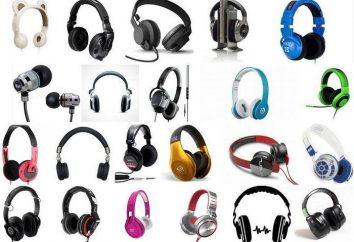Jak wybrać pełnowymiarowe słuchawki? Top model: przegląd, ocena