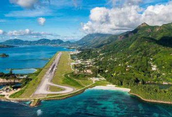 l'aéroport des Seychelles avec le statut international et d'autres plaques tournantes