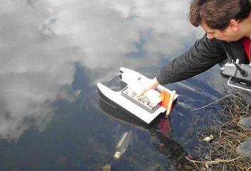Invertendo o barco: instruções para a produção e os segredos da pesca. Groundbait para barco de pesca