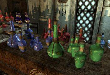"""""""Alchemy"""" (Skyrim): ricette per pozioni, di pompaggio, ingredienti, effetti"""