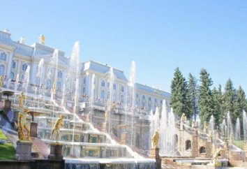 Peterhof à Saint-Pétersbourg: photo, adresse, voyages
