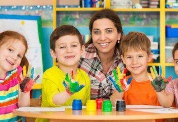 Psychologie Woche im Kindergarten: das Skript