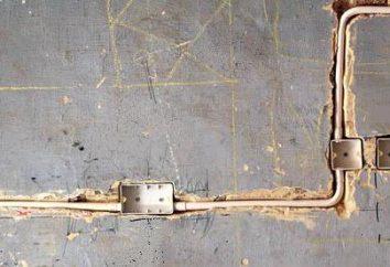 Shtroblenie powierzchnie dla okablowania: standardów i narzędzi