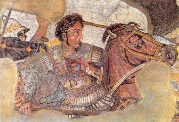 história interessante. Quem era o cavalo Aleksandra Makedonskogo?