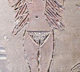 dea babilonese Ishtar – dea della fecondità e dell'amore. Porta di Ishtar a Babilonia
