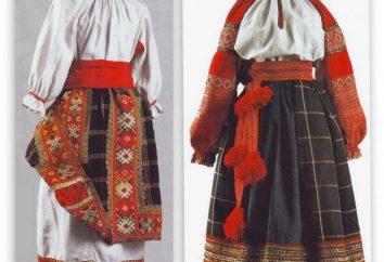 ¿Qué es la falda de la cultura rusa?