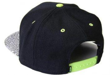 Qu'est-ce que vous appelez une casquette avec visière droite? Caps pare-soleil direct – photo