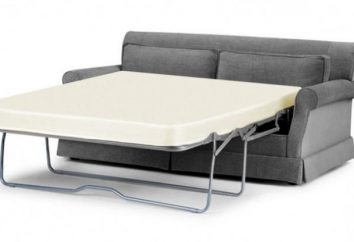 La scelta di un divano letto con materasso ortopedico
