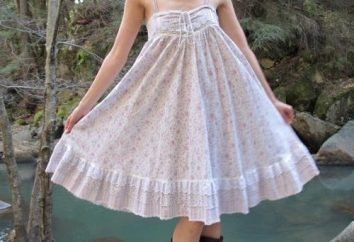 abito romantico e femminile con una gonna-sun