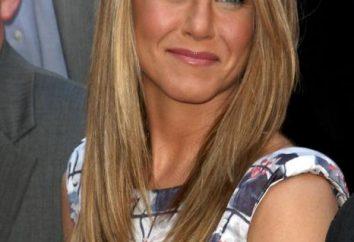 peinados de las celebridades Dzhenifer Eniston