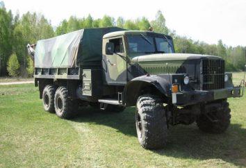 KrAZ 255 – schwere Ausrüstung, Off-Road