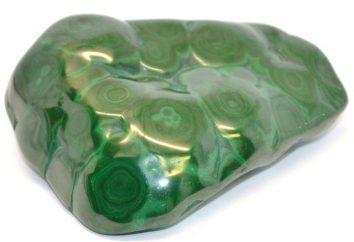pietre Malachite: proprietà minerali