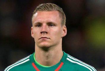 futbolista alemán Bernd Leno. Un candidato para el equipo nacional de Rusia en el fútbol