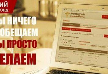 """""""Mercury"""" Fondo Mutuo: Revisiones. Trampas o los ingresos reales?"""