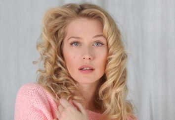 Schauspielerin Karina Andolenko: ein Mädchen mit einer Stange