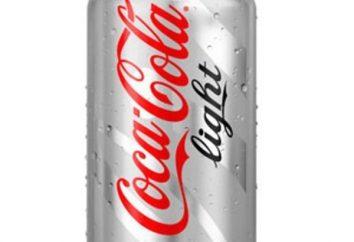 """""""Coca-Cola Light"""": calories, propriétés utiles, les avantages et les inconvénients"""