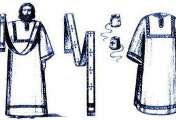 Gewänder des Priesters: Kleider, Hüte, Manschetten, Brustkreuz