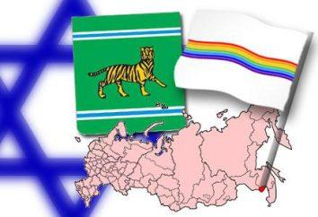 La région autonome juive. Capital, carte, photo