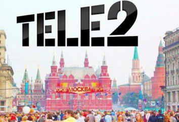 Moscou, « Tele2 »: commentaires sur l'opérateur