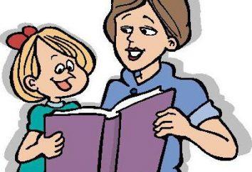 La lecture de fiction dans le groupe 2 jeunes: une liste des œuvres