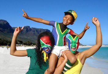 Afrique du Sud: une liste de la capitale, les faits intéressants