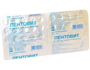La vitamine complexe « Pentovit »: indications pour l'utilisation, la composition, le dosage et les examens de préparation