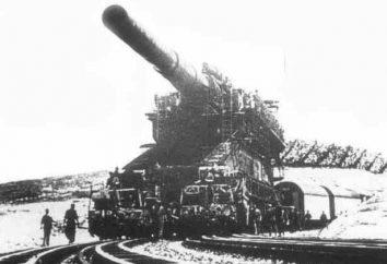 """Gun """"Dora"""" – uma arma da Segunda Guerra Mundial: Descrição"""