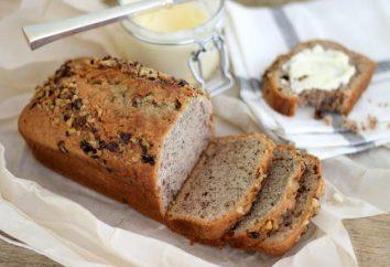 Pão com mel e nozes. receitas culinárias