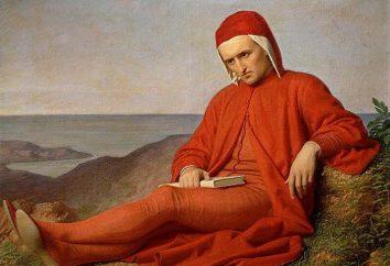 Dante Alighieri: biografia, daty życia, twórczości