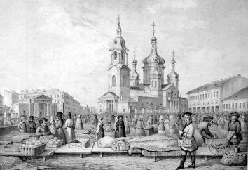 marché « Senna » de Saint-Pétersbourg