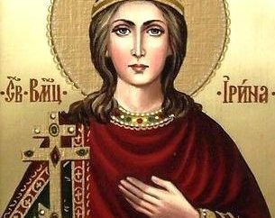 Heilige Irina Velikomuchenitsa