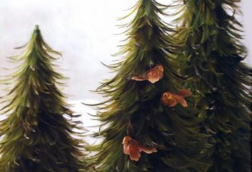 Der Baum ist aus einer Feder. Lernen, einen schönen dekorativen Baum mit eigenen Händen zu machen