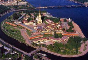 Historyczny Piotra i Pawła (St. Petersburg): fotografie, kiedy i przez kogo został zbudowany