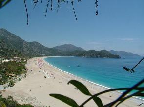 Turchia: bella spiaggia. Belek, in Turchia, le spiagge. Vacanze in Turchia
