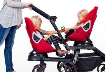 Como escolher um carrinho de criança para a mesma idade?