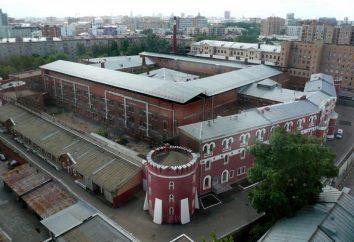 prison Butyrskaya à Moscou. Adresse, et un bref historique
